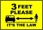 3 Feet It's The Law